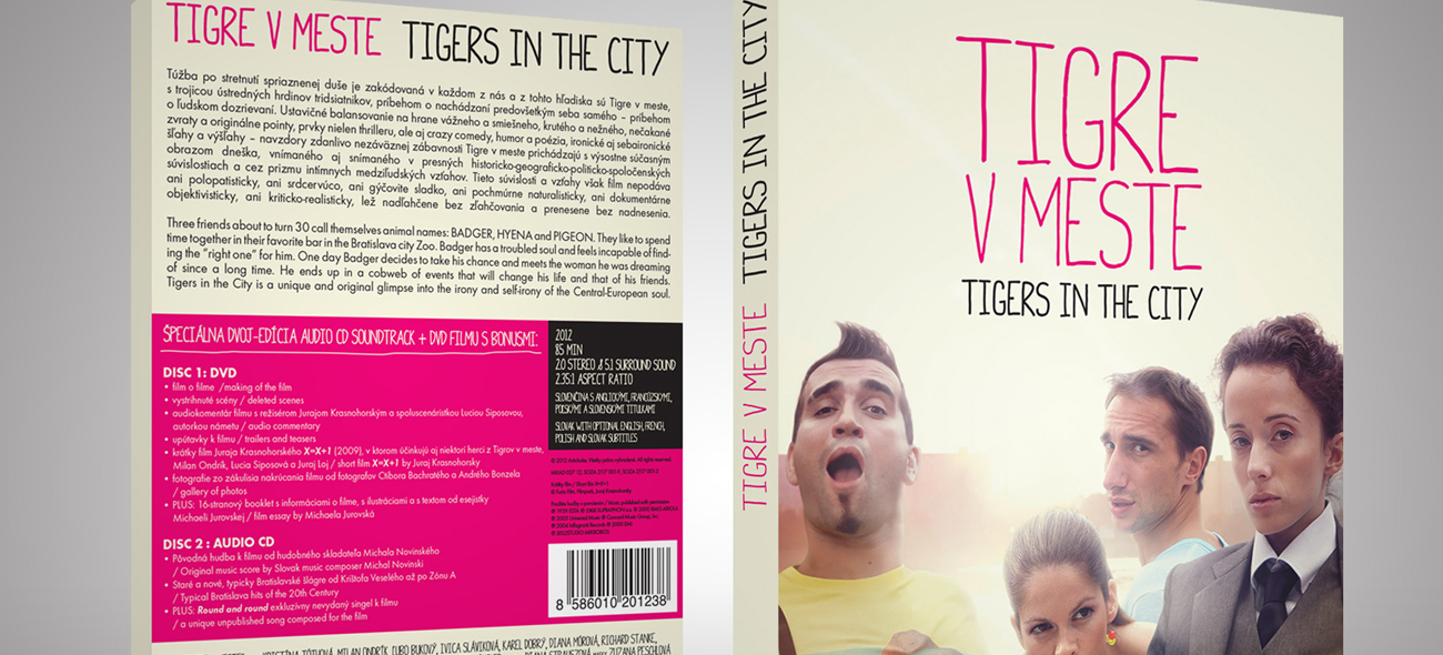 Tigers in the City DVD